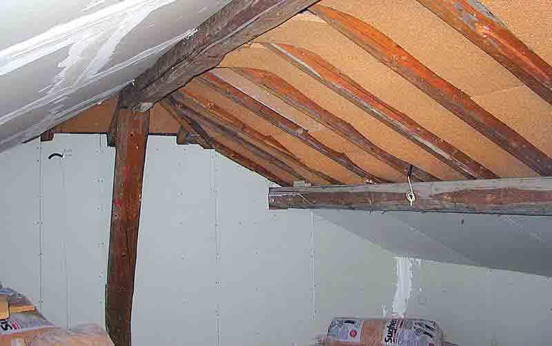 Coverd realizzazioni sottotetti isolamento pannelli - Isolamento tetto interno ...