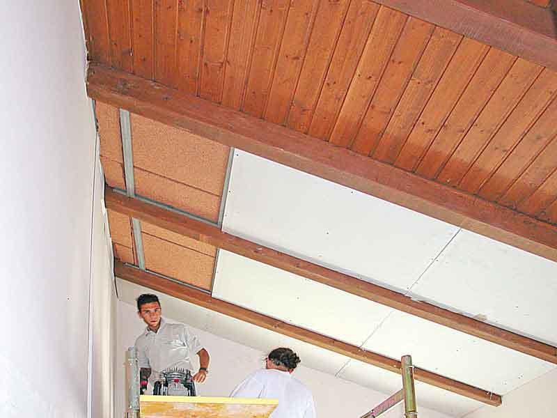 Coverd realizzazioni sottotetti isolamento pannelli - Pannelli isolanti per sottotetto ...