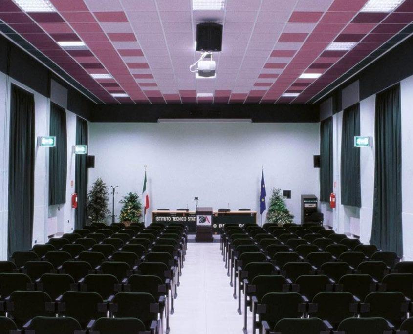 Sale multimediali - Isolamento acustico sale conferenze - acustica sale riunioni