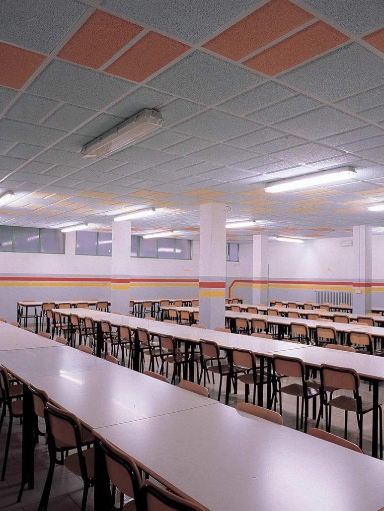 Isolamento acustico scuole