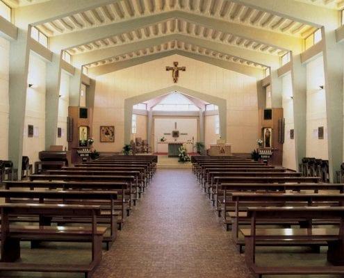 Rimbombo in chiesa