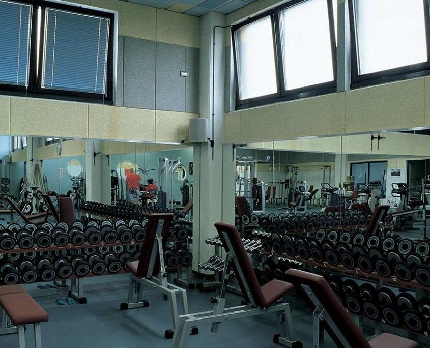 isolamento acustico palestre e centri fitness