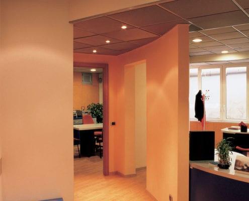 Isolamento acustico uffici