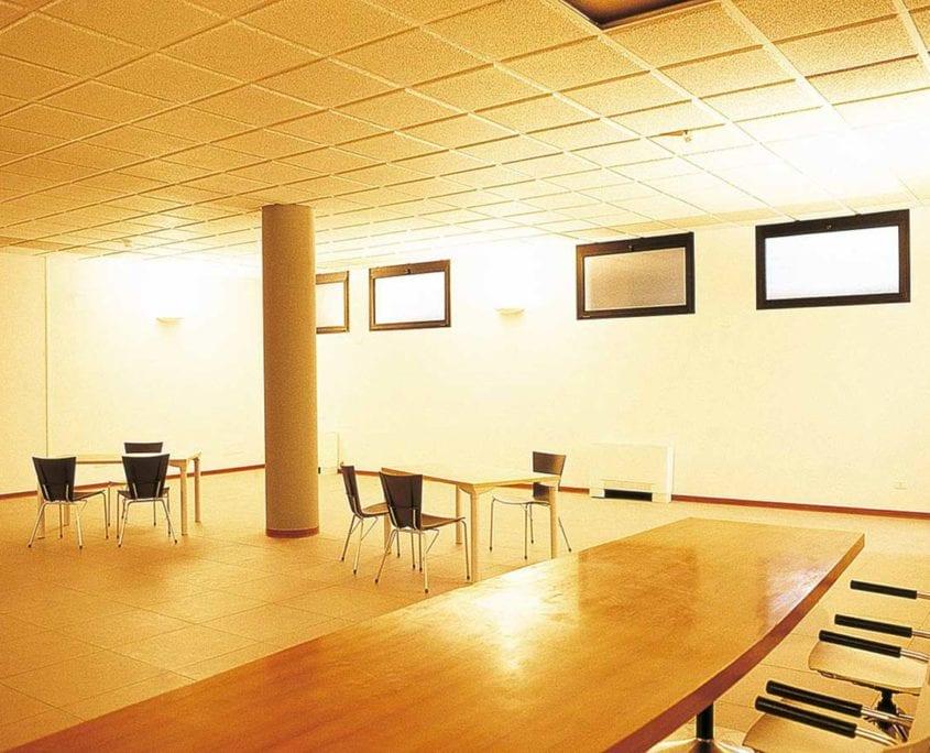 Sala polifunzionale - Acustica sale riunioni - Acustica sale conferenze