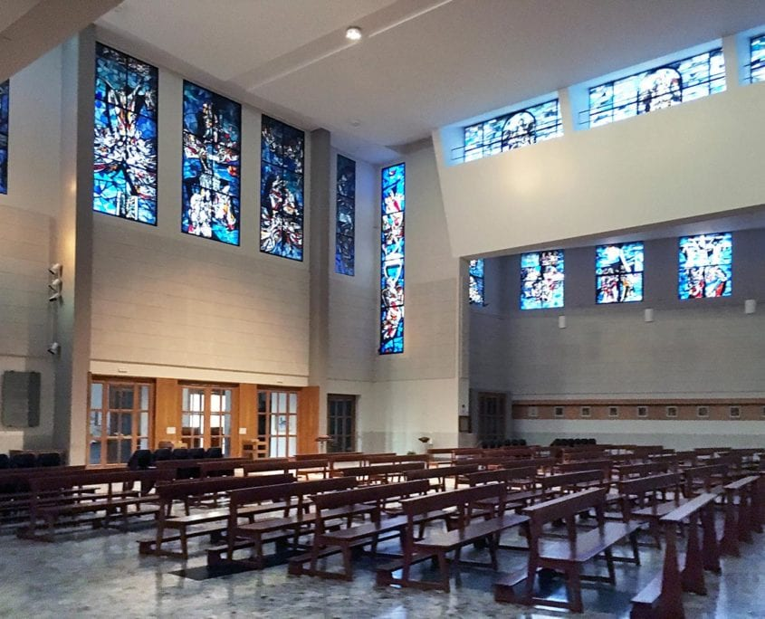 Correzione acustica chiese e parrocchie