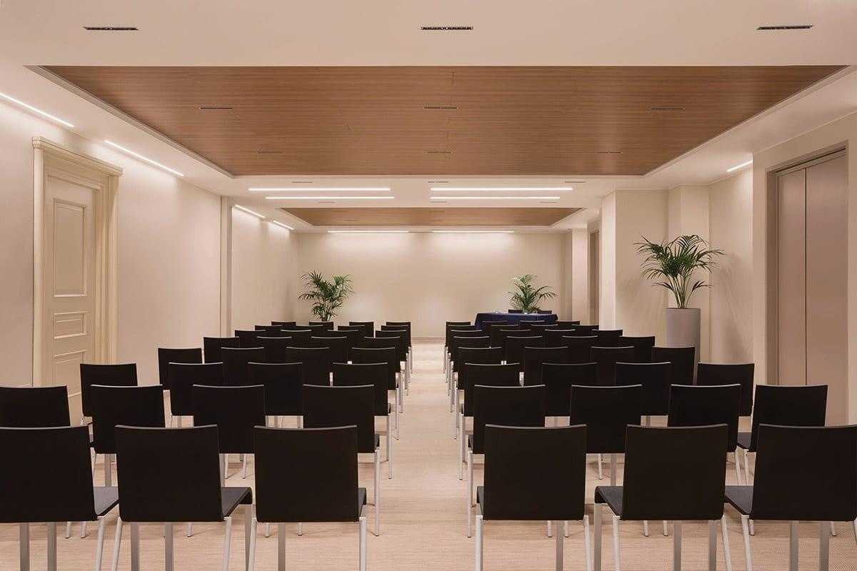 Isolamento acustico sale riunioni