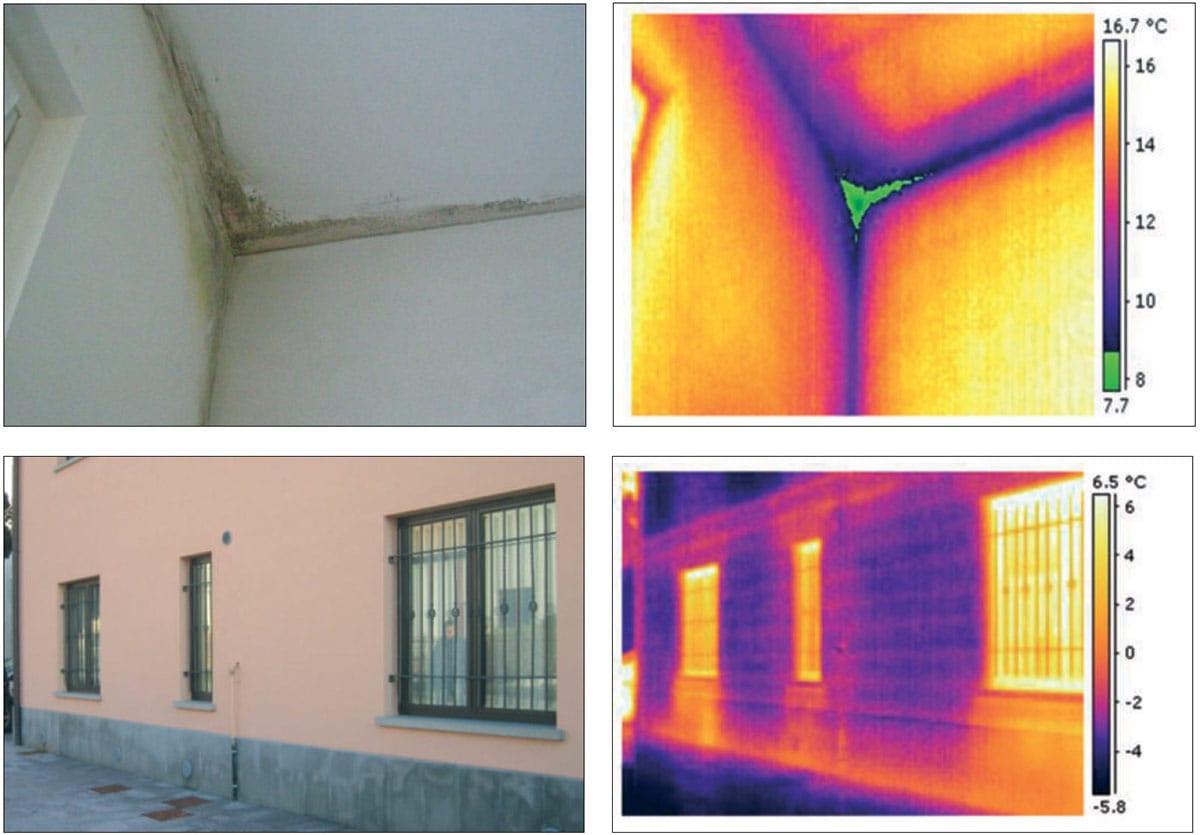 L'individuazione dei Ponti termici con termografia IR