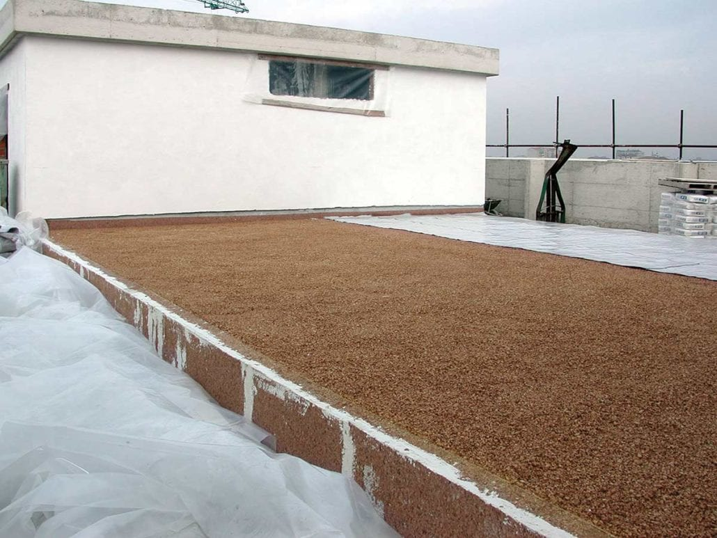 Sottofondo pavimento in Sughero, isolamento termico e acustico