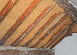 Isolare il tetto con il sughero coverd sughero bioedilizia - Isolare il tetto dall interno ...