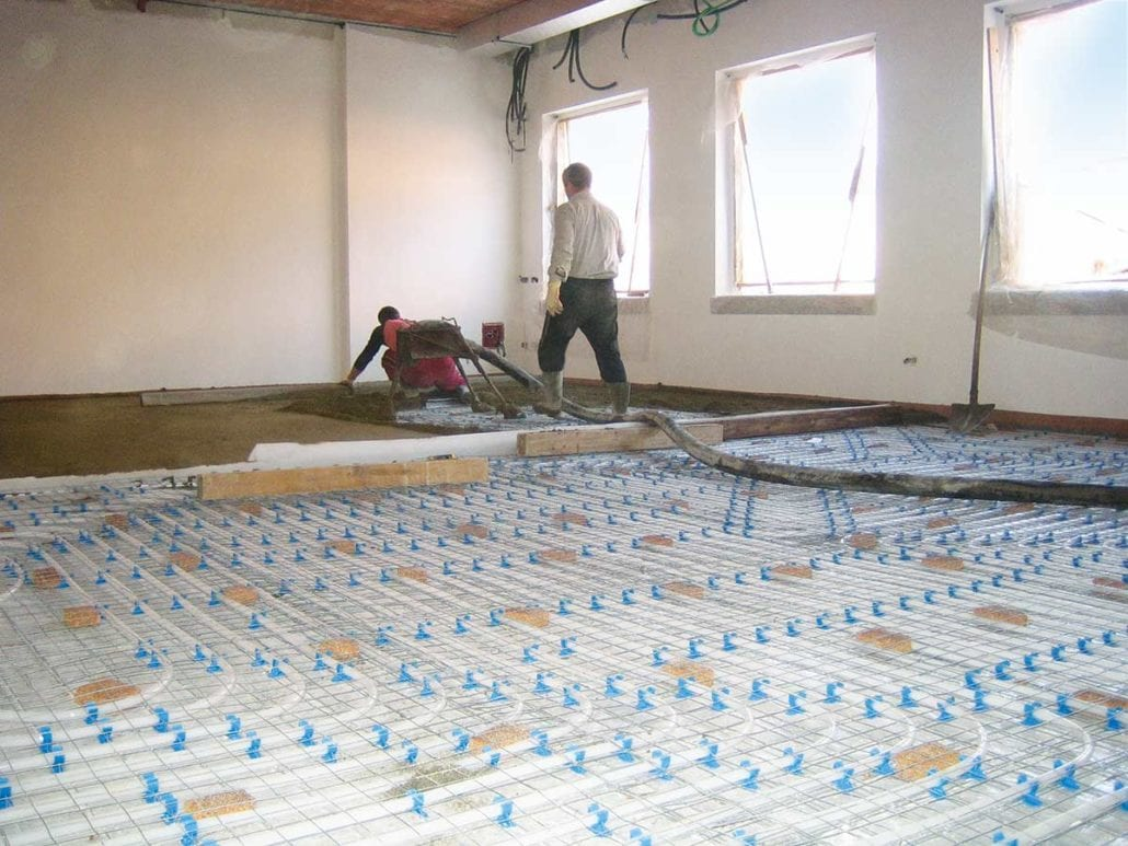 Sottofondo pavimento in sughero isolamento termico e acustico