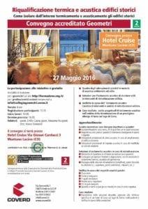 Convegno accreditato Geometri - Venerdì 27 Maggio 2016