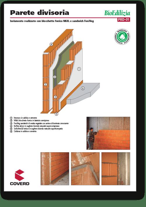 Soluzioni pareti divisorie