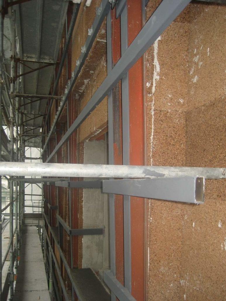Isolamento delle facciate ventilate coverd sughero - Parete di sughero ...