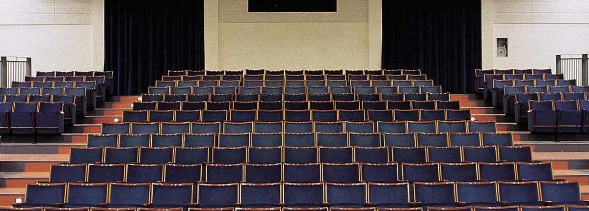 isolamento acustico auditorium