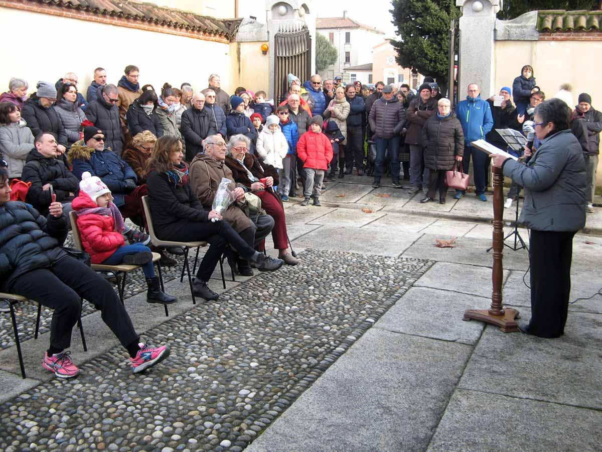 Coverd AIA di Verderio - Pietre d'inciampo in ricordo dei Milla