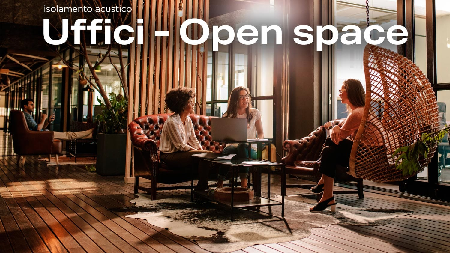 Isolamento acustico Uffici - Open space