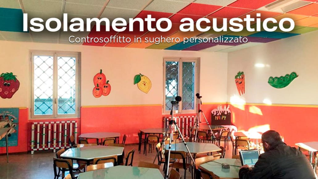 Isolamento acustico asilo - pareti fonoassorbenti e pannelli fonoassorbenti per interni
