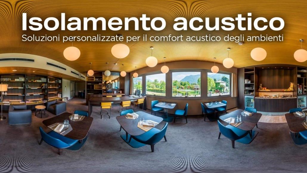 Pannelli acustici per pareti interne - Isolamento acustico locali pubblici - pannelli acustici per pareti - pannelli fonoassorbenti per ristoranti
