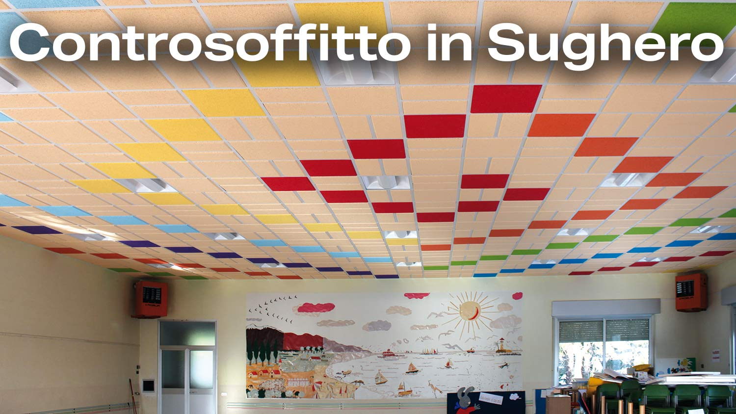 Controsoffitto in Sughero