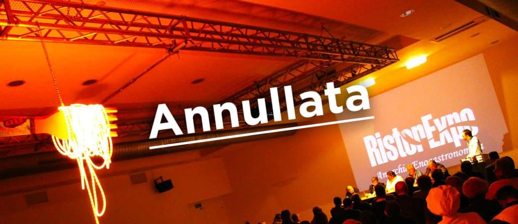 Annullamento manifestazione RistorExpo 2020