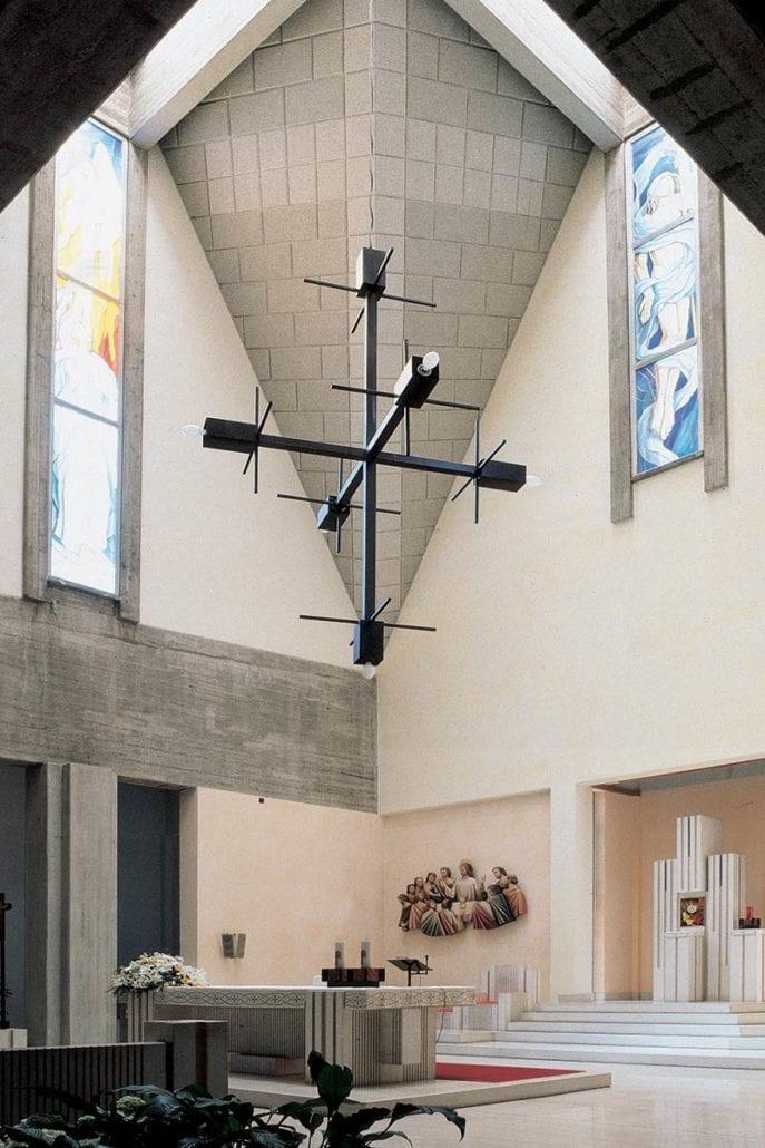 Chiesa Parrocchiale Gesù crocefisso Parabiago (MI) – Correzione acustica
