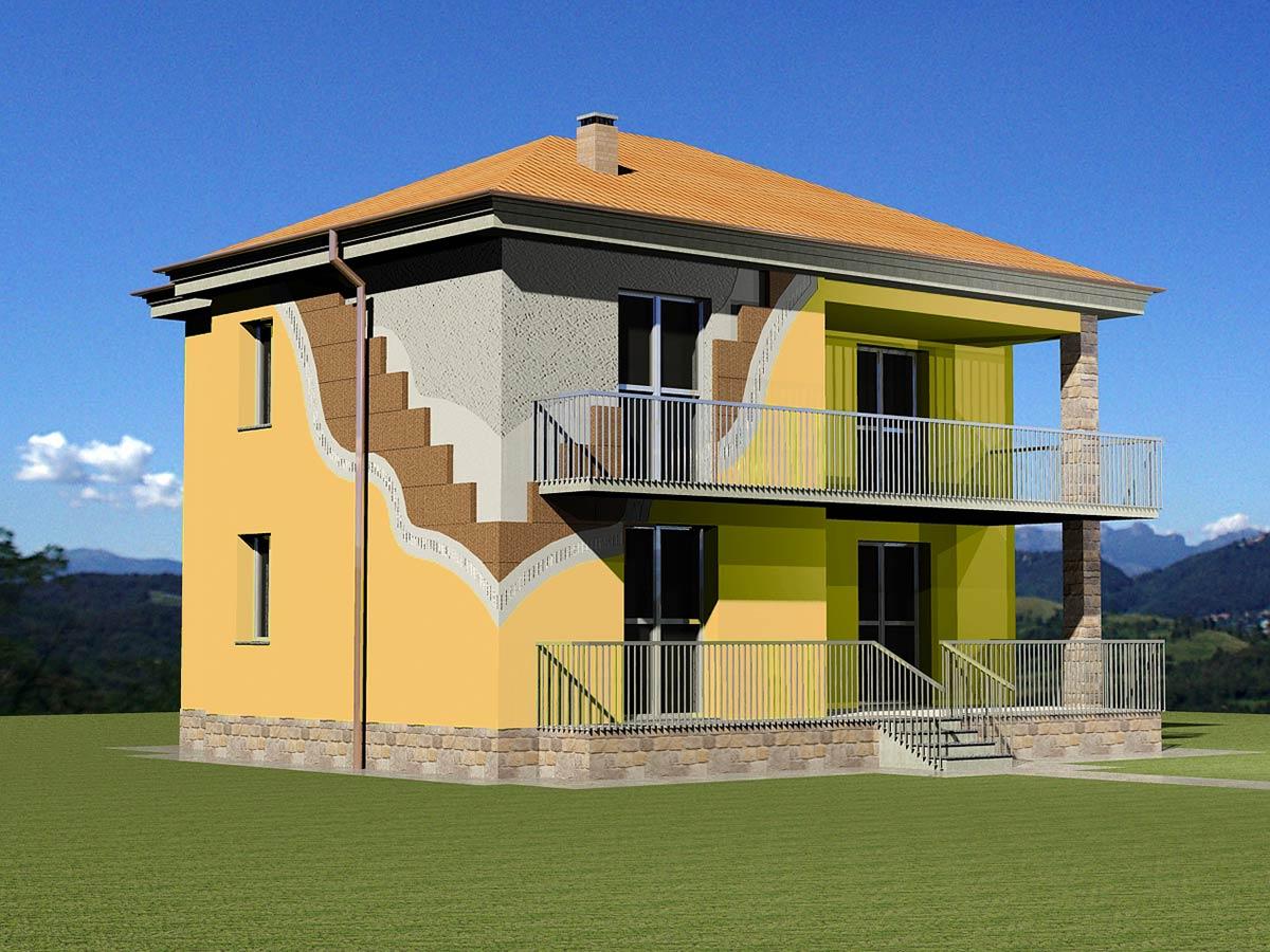 Isolare la casa in Bioedilizia – Stato di progetto
