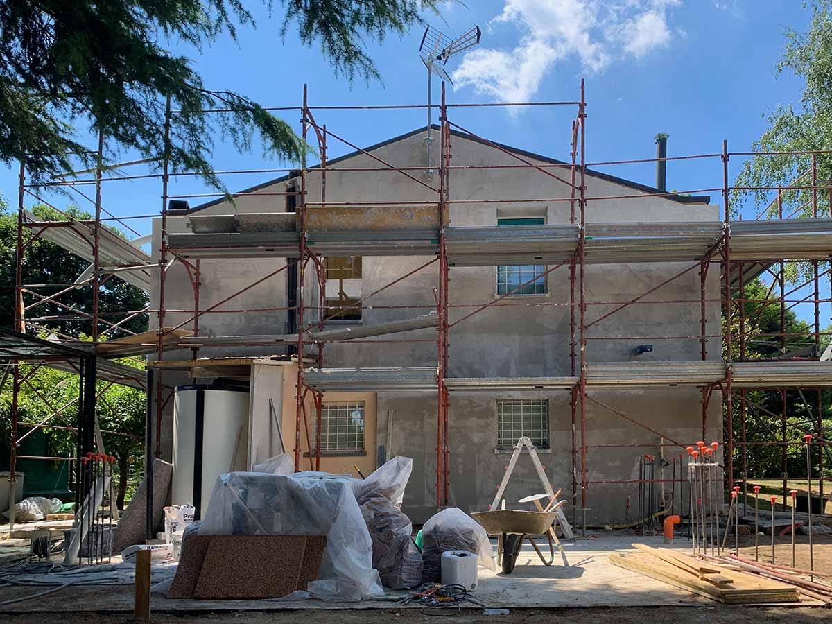 Villa Imbersago (LC) - Riqualificazione energetica Superbonus 110%